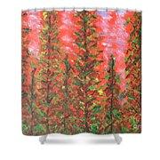 Autumn Vivaldi Shower Curtain
