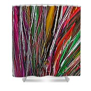 Autumn Reeds Shower Curtain