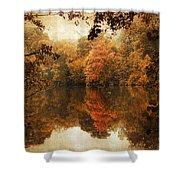 Autumn Reflected Shower Curtain