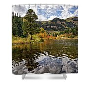 Autumn Reflected Shower Curtain