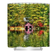 Autumn Reflections Shower Curtain