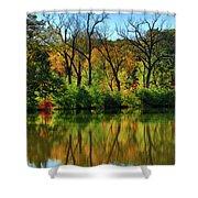 Autumn Reflections On Salt Creek IIi Shower Curtain