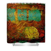 Autumn Reformated Shower Curtain