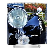 Autumn Rolls Shower Curtain