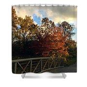 Autumn Rust Shower Curtain