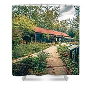 Autumn Season Around Aheville North Carolina Shower Curtain