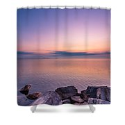 Sunrise At Sibbald Point Shower Curtain