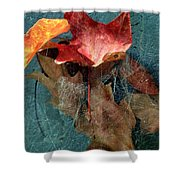 Autumn Seined Shower Curtain