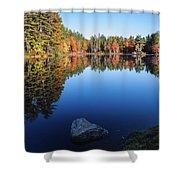 Autumn Serenity In Maine Usa Shower Curtain