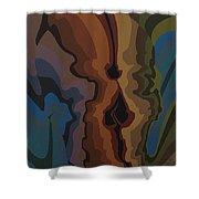 Autumn Skull Shower Curtain