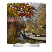 Autumn Souvenirs Shower Curtain