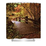 Autumn Splendor Bridge Shower Curtain