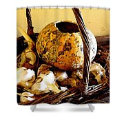 Autumn Still Life Shower Curtain