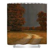 Autumn Storm 4 Shower Curtain