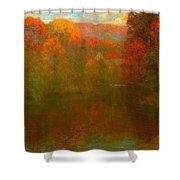 Autumn Symphony Shower Curtain