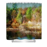 Autumn Tapestry Shower Curtain