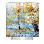 Autumn Tenderness Shower Curtain