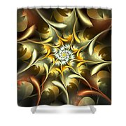 Autumn Treasures Shower Curtain