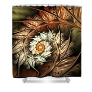 Autumn Twist Shower Curtain