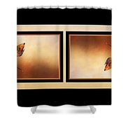 Autumn Up And Down Shower Curtain