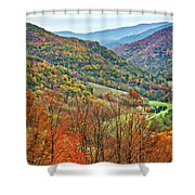 Autumn Valley Shower Curtain