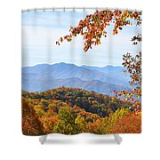 Autumn View Of The Smokies Shower Curtain