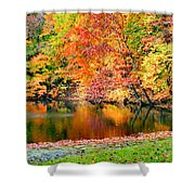 Autumn Warmth Shower Curtain