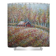 Autumn Whisper. Shower Curtain
