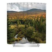 Autumn - White Mountains New Hampshire Shower Curtain