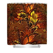 Autumnal Glow Shower Curtain