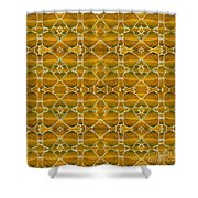 Autumnal In Earth Tones Shower Curtain