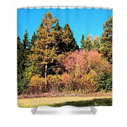 Autumnal Landscape Shower Curtain