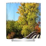 Autumnal North Bridge Shower Curtain