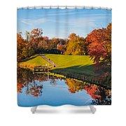 Autumnal Scene Shower Curtain
