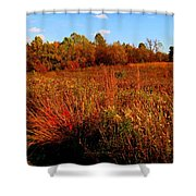 Autumns Field Shower Curtain