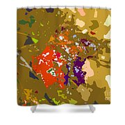 Autumns Leaf Shower Curtain