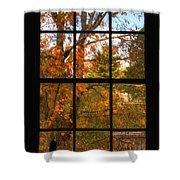 Autumn's Palette Shower Curtain by Joann Vitali
