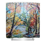 Autumn's Splendor Shower Curtain