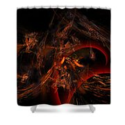 Autums Winds 2 Shower Curtain