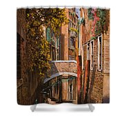 autunno a Venezia Shower Curtain