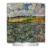 Landscape Auvers28 Shower Curtain