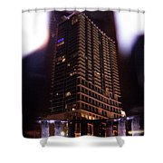 Avant Garde Architecture Image In Orlando Florida Shower Curtain