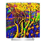 Avatar Forest - Pa Shower Curtain
