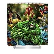 Avengers Shower Curtain