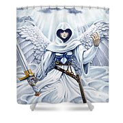 Avenging Angel Shower Curtain