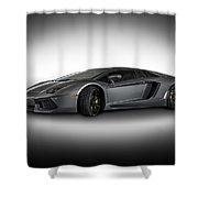 Aventador Lp 700-4 Grigio Titans Shower Curtain