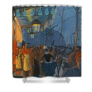 Avenue De Clichy. Five O'clock In The Evening Shower Curtain