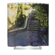 Avenue Gravier - The Shortcut Shower Curtain