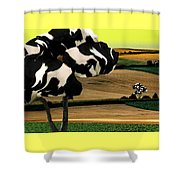 Avenue Shower Curtain