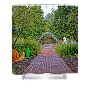 Avenue Of Dreams 6 Shower Curtain